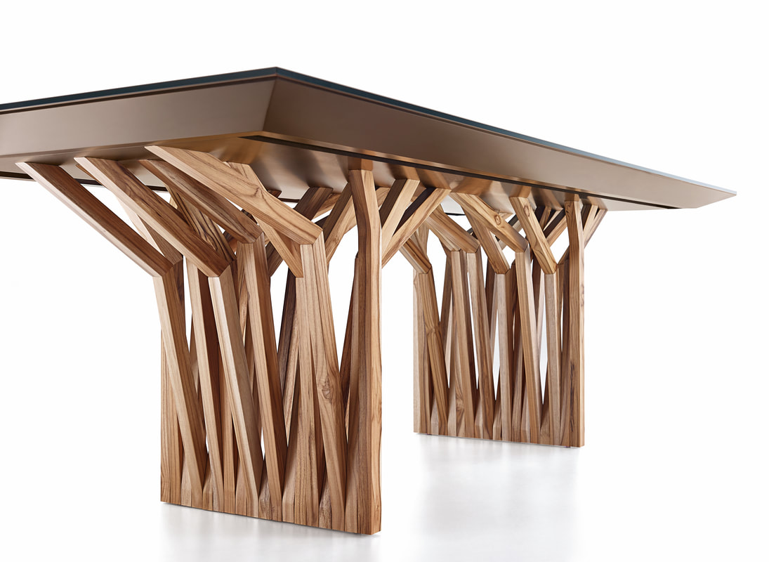 Second Runner Up: Radi Table by Herval
